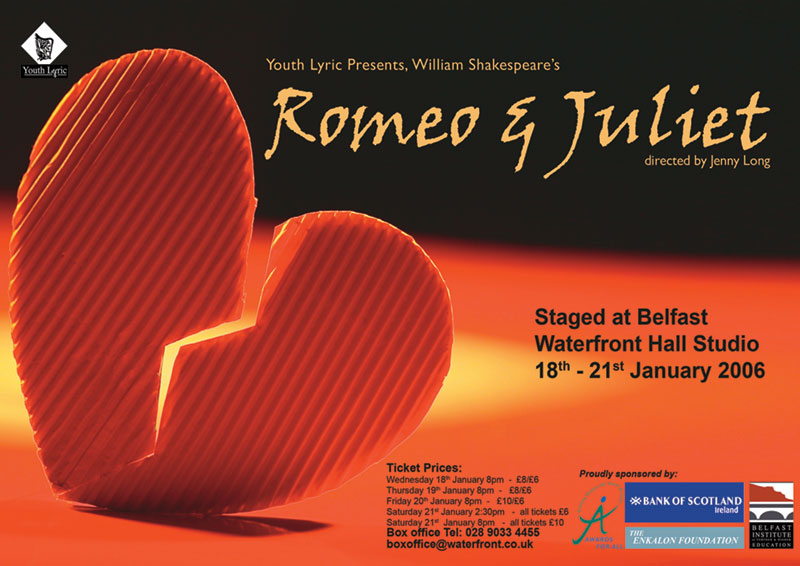 Romeo and Juliet Youth Lyric