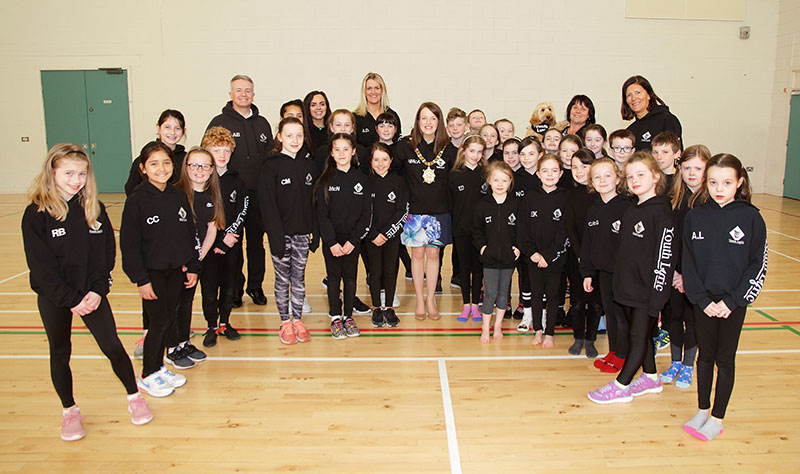 Belfast lord mayor meets pupils at Youth lyric
