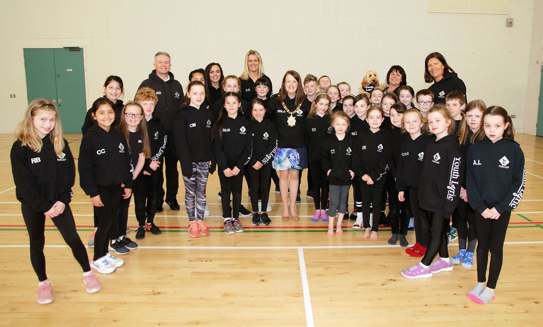 Belfast Lord Mayor visits Youth Lyric